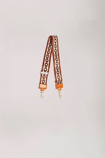 BAG STRAP CHAIN ORANGE