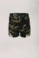 2LA SISTERS CAMOUFLAGE SHORTS