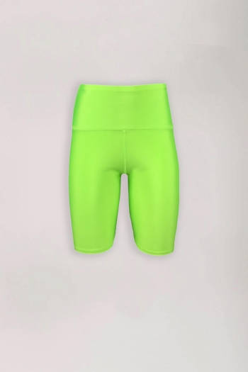 CYCLE SHORT NEON GREEN