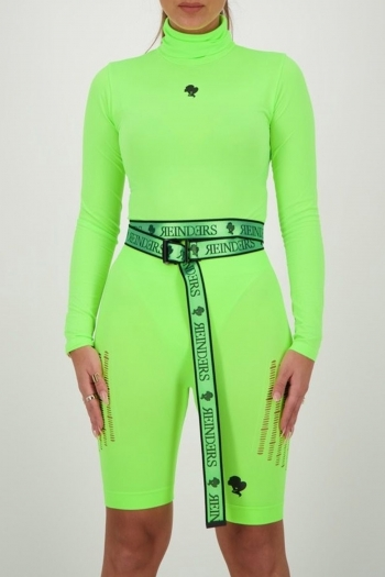 BODY TURTLENECK REINDERS NEON GREEN