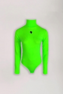 2BODY TURTLENECK REINDERS NEON GREEN