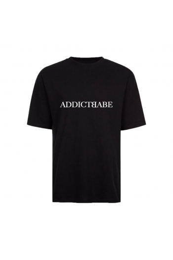 A2F THE LABEL TEE BLACK