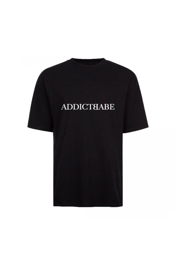 2A2F THE LABEL TEE BLACK