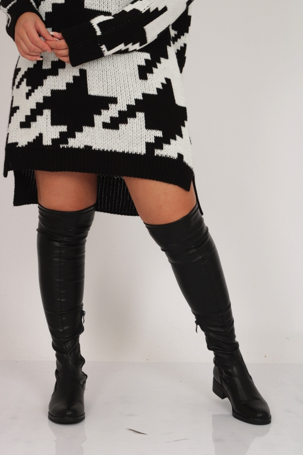 2OVER KNEE BOOTS