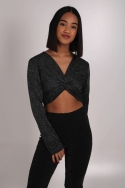 2SHINE BRIGHT CROPPED TOP