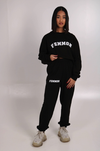FEMMON COLLEGE CREWNECK SWEATER