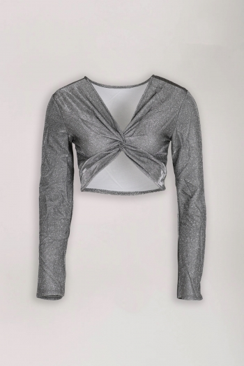 SHINE BRIGHT CROPPED TOP