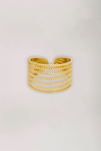 Ring stack it up gold