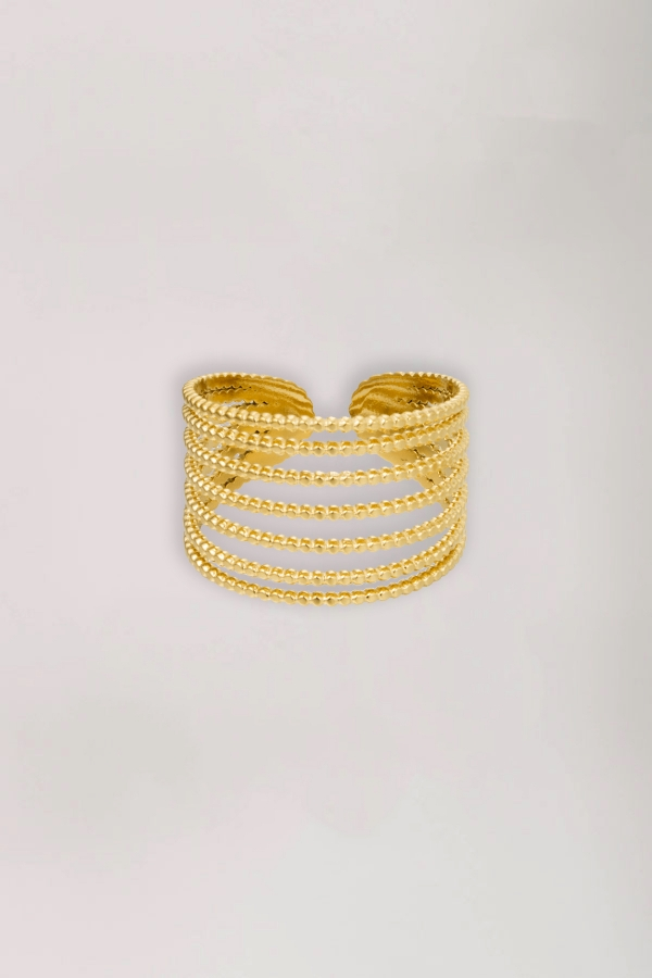 2Ring stack it up gold