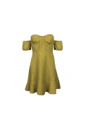 2FLOWER FIELD DRESS YELLOW