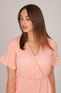 2DOTTED PLAYSUIT SOFTPINK