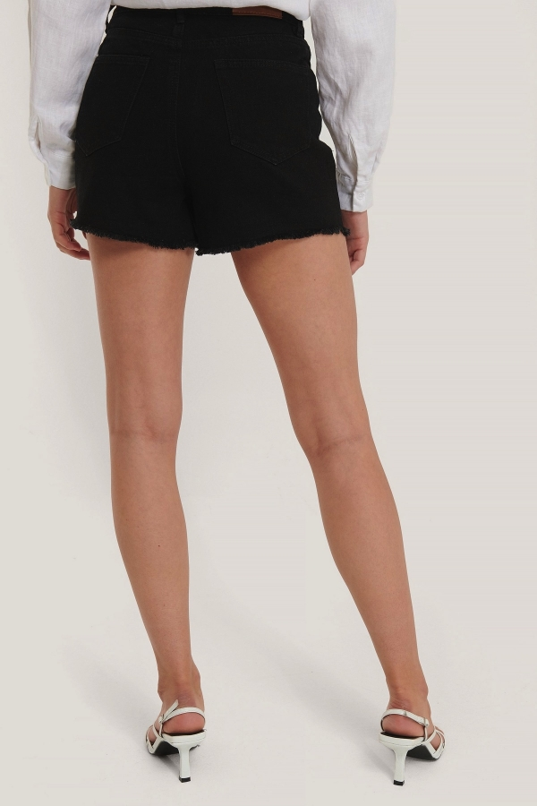 2NA-KD SHORT DENIM SHORTS BLACK