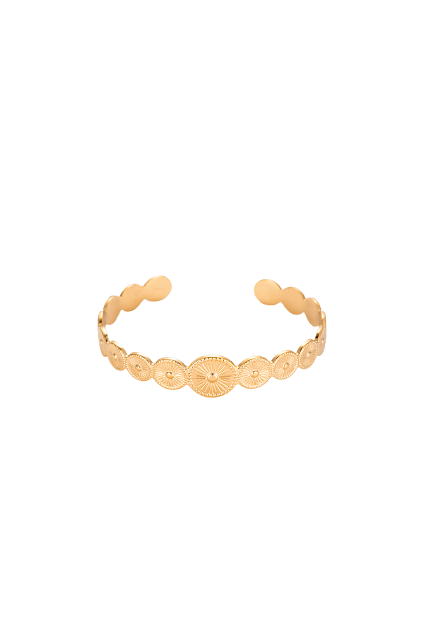 2ELEMENT BANGLE GOLD